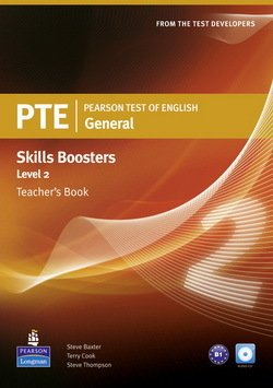 Pearson Test of English (PTE) General Skills Booster Level 2 Teacher's Book - Terry L. Cook - 9781408277935