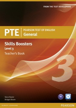 Pearson Test of English (PTE) General Skills Booster Level 3 Teacher's Book - Steve Baxter - 9781408277942