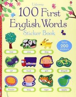 100 First English Words Sticker Book -  - 9781409551539