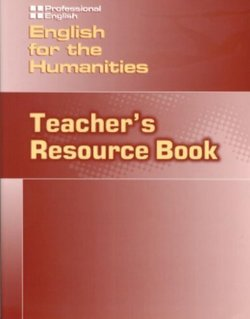 English for the Humanities Teacher's Resource Book - Johannsen