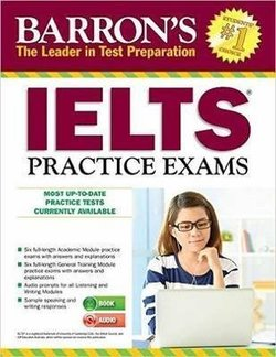 Barron's IELTS Practice Exams Book with MP3 Audio CD (3rd Edition) - Lin Lougheed - 9781438076355