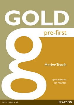 Gold Pre-First ActiveTeach (Interactive Whiteboard Software) - Lynda Edwards - 9781447907213