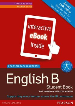 Pearson Baccalaureate: English B for the IB Diploma eBook Only Edition (Internet Access Code Card) - Pat Janning - 9781447944171