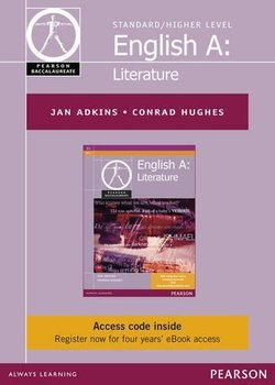 Pearson Baccalaureate: English A Literature for the IB Diploma eBook Only Edition (Internet Access Code Card) - Jan Adkins - 9781447952237