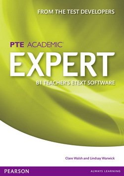 Pearson Test of English Academic (PTE) Academic B1 Expert Teacher's eText Disc for Interactive Whiteboard (IWB) (Includes Teacher's Resources) - Clare Walsh - 9781447961864