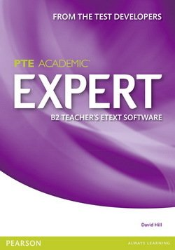 Pearson Test of English Academic (PTE) Academic B2 Expert Teacher's eText Disc for Interactive Whiteboard (IWB) (Includes Teacher's Resources) - Norman Whitby - 9781447961871