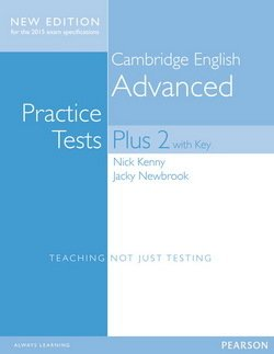 Cambridge English: Advanced (CAE) Practice Tests Plus 2 (New Edition) Student's Book with Key & Online Audio - Nick Kenny - 9781447966203