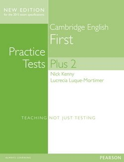 Cambridge English: First (FCE) Practice Tests Plus 2 (New Edition) Student's Book without Key with Online Audio - Nick Kenny - 9781447966234