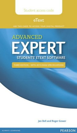 Advanced Expert (3rd Edition) eText Coursebook (Internet Access Code) -  - 9781447973805
