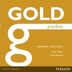 Gold Pre-First Exam Maximiser Audio CDs -  - 9781447973911