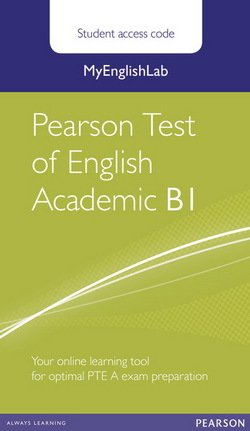 MyEnglishLab Pearson Test of English Academic B1 (Student's Internet Access Code Card) -  - 9781447975052