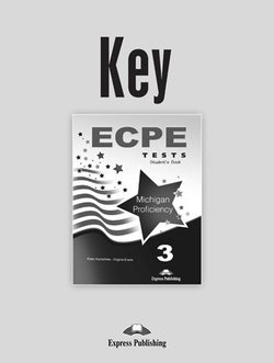 ECPE 3 Tests for the Michigan Proficiency Answer Key - Peter Huzphries - 9781471502217