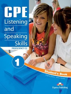 CPE Listening & Speaking Skills 1 Student's Book -  - 9781471504723