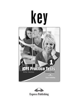 Practice Tests for CPE 1 (Cambridge English: Proficiency) Answer Key -  - 9781471506505