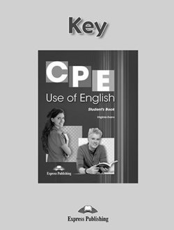 CPE Use of English 1 Answer Key - Evans