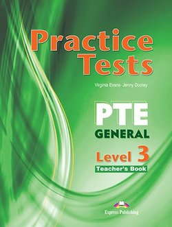 Practice Tests PTE General Level 3 Teacher's Book with DigiBooks App -  - 9781471579172