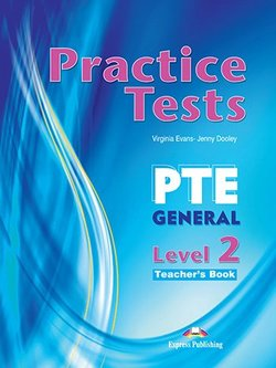 Practice Tests PTE General Level 2 Teacher's Book with DigiBooks App -  - 9781471579547