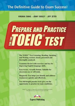 Prepare and Practice for the TOEIC Test Student's Book with Answer Key - Virginia Evans - 9781780989051