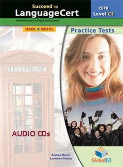 Succeed in LanguageCert C1 - Expert Practice Tests Audio CDs -  - 9781781643891