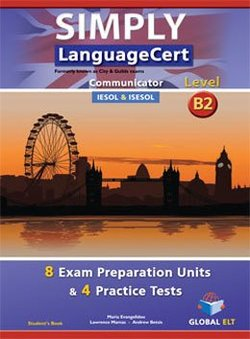 Simply LanguageCert B2 - Communicator Preparation & Practice Tests Student's Book -  - 9781781644089
