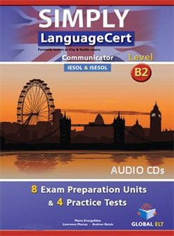 Simply LanguageCert B2 - Communicator Preparation & Practice Tests Audio CDs -  - 9781781644102