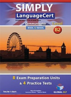 Simply LanguageCert B2 - Communicator Preparation & Practice Tests Teacher's Book -  - 9781781644119