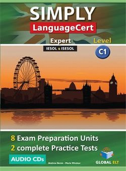 Simply LanguageCert C1 - Expert Preparation & Practice Tests Audio CDs -  - 9781781644683