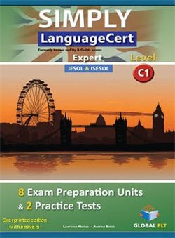Simply LanguageCert C1 - Expert Preparation & Practice Tests Teacher's book -  - 9781781644690