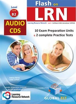 Flash on LRN - ESOL International Level 1 (B2) Practice Tests Audio CDs -  - 9781781645789
