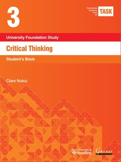 Transferable Academic Skills Kit (TASK) (New edition) 3. Critical Thinking - Clare Nukui - 9781782601784