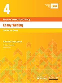 Transferable Academic Skills Kit (TASK) (New edition) 4. Essay Writing - Amanda Fava-Verde - 9781782601791