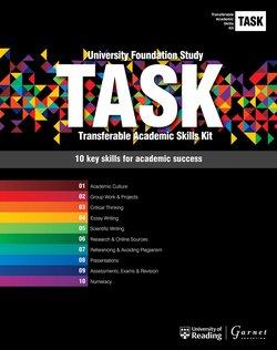 Transferable Academic Skills Kit (TASK) (New edition) Boxed set (All 10 modules) - Garnet Education - 9781782602026