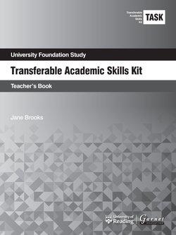 Transferable Academic Skills Kit (TASK) (New edition) Teacher's Book - Jane Brooks - 9781782602521