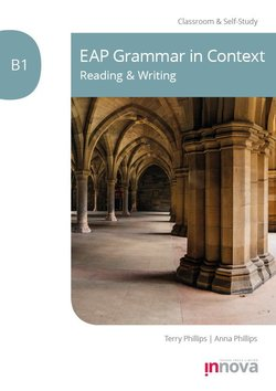 EAP Grammar in Context: Reading & Writing B1 -  - 9781787680401