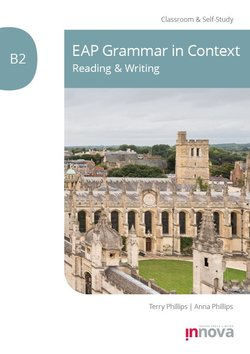 EAP Grammar in Context: Reading & Writing B2 - Terry Phillips - 9781787680418