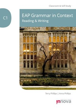 EAP Grammar in Context: Reading & Writing C1 - Terry Phillips - 9781787680425