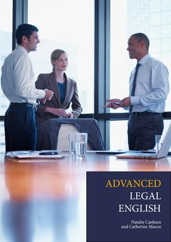 Advanced Legal English - Natalie Canham and Catherine Mason - 9781789267112