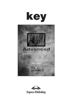Advanced Grammar & Vocabulary Answer Key - Skipper Zark - 9781843258773