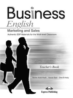 Business English Marketing and Sales Teacher's Book - Khalik Nevine Abdel - 9781848621381