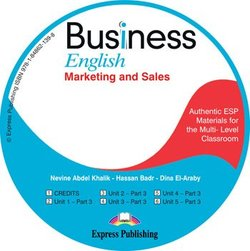 Business English Marketing and Sales Class CD - Khalik Nevine Abdel - 9781848621398