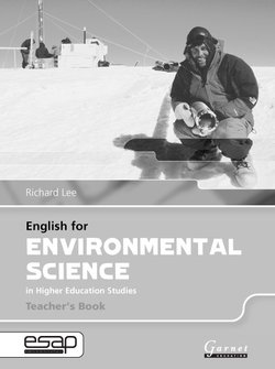 English for Environmental Science in Higher Education Studies Teacher's Book - Richard Lee - 9781859644454