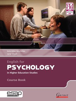 English for Psychology in Higher Education Studies Course Book with Audio CDs - Jane Short - 9781859644461