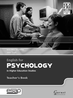 English for Psychology in Higher Education Studies Teacher's Book - Jane Short - 9781859644478