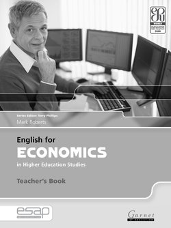 English for Economics in Higher Education Studies Teacher's Book - Mark Roberts - 9781859644492