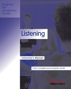 English for Academic Study (American Edition) Listening Teacher's Book - Colin Campbell - 9781859645390