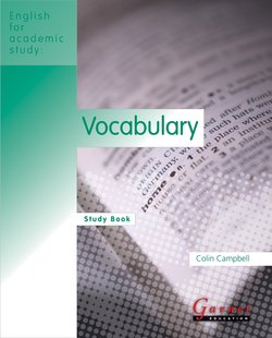 English for Academic Study (American Edition) Vocabulary Study Book - Colin Campbell - 9781859645512