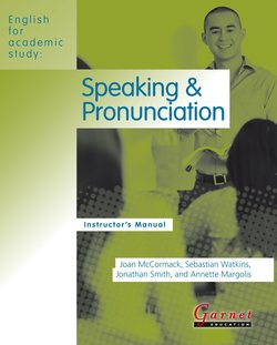 English for Academic Study (American Edition) Speaking & Pronunciation Teacher's Book - Joan McCormack - 9781859645758