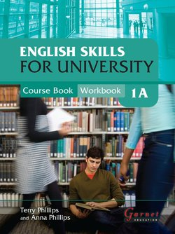 English Skills for University 1A Combined Course Book and Workbook with Audio CDs - Anna Phillips - 9781859646441