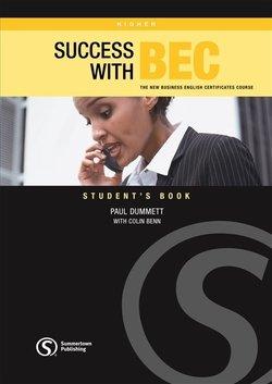Success with BEC Higher Student's Book - Paul Dummett - 9781902741888
