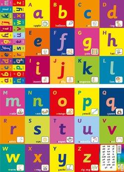 Alphabet Freize (2 Posters) -  - 9781904217527